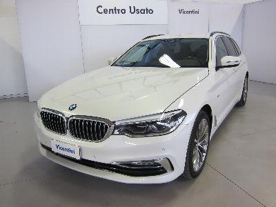 BMW Serie 5 520d touring Luxury auto